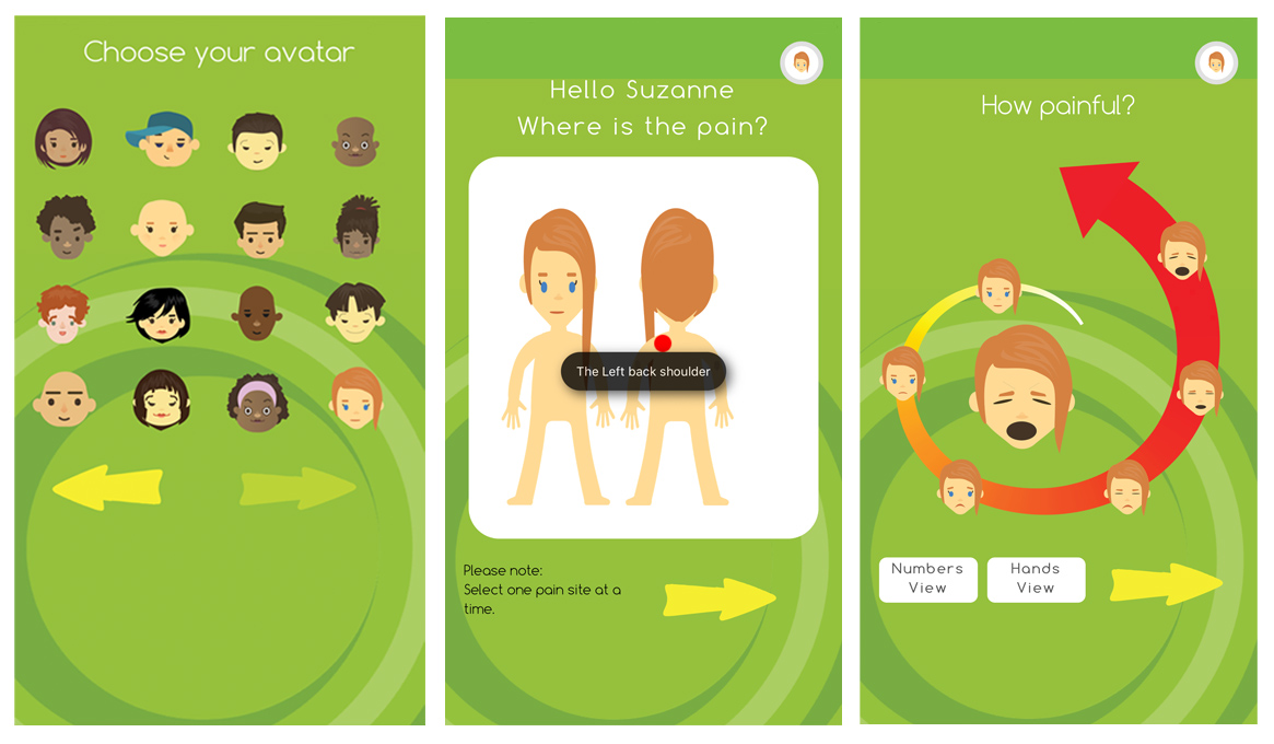 Pain Assessment App For Children Patchsa